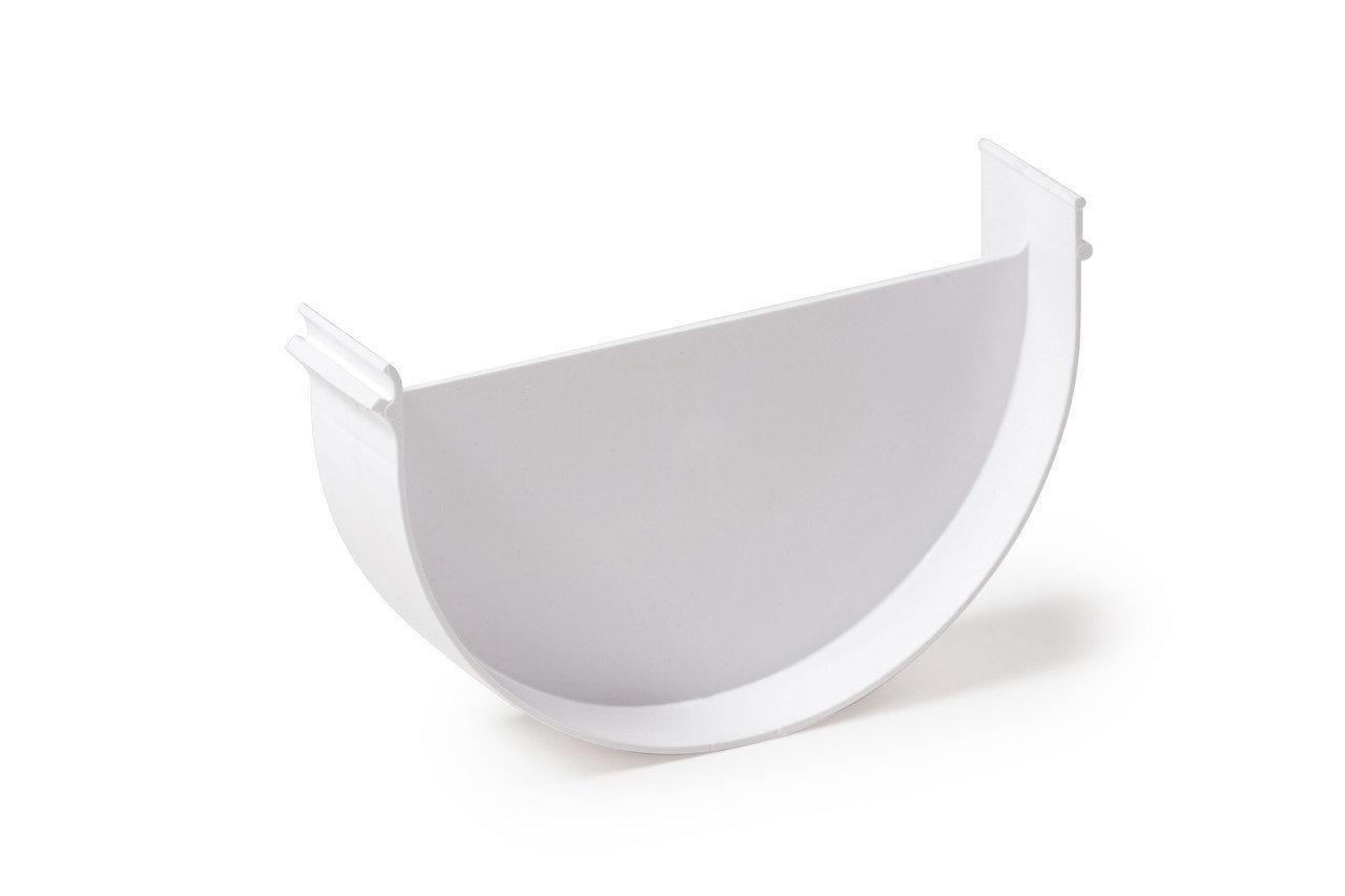 Заглушка Fitt лейки 125 мм, цвет белый
