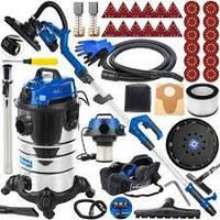 Шлифовальная машина для стен Scheppach DS 930 710W LED + пылесос Scheppach ASP30-ES 1400W 30L