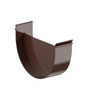 Заглушка Fitt лійки 125 мм, колір коричневий