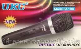 🔥✅ Ручной вокальный микрофон UKC DM U-198 в металлическом корпусе