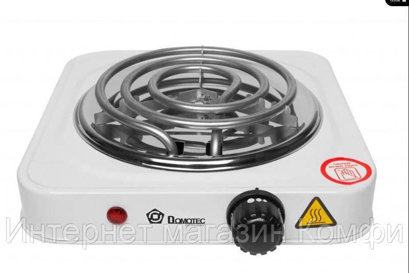 🔥✅ Электроплита на одну конфорку Domotec MS-5801 плита настольная