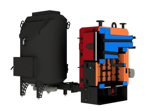 Котел твердотопливный Альтеп BIO 1000 кВт, фото 2