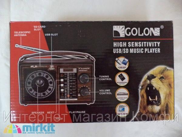 🔥✅ Радиоприемник Golon RX - 306