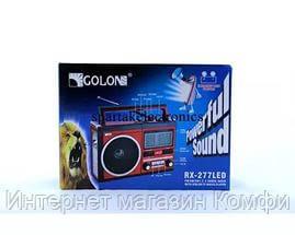 🔥✅ Радиоприемник Golon RX-277 с USB и Led фонариком