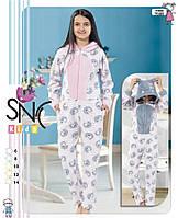 """Детская пижама кигуруми """"SNC"""", 6-14 лет"""