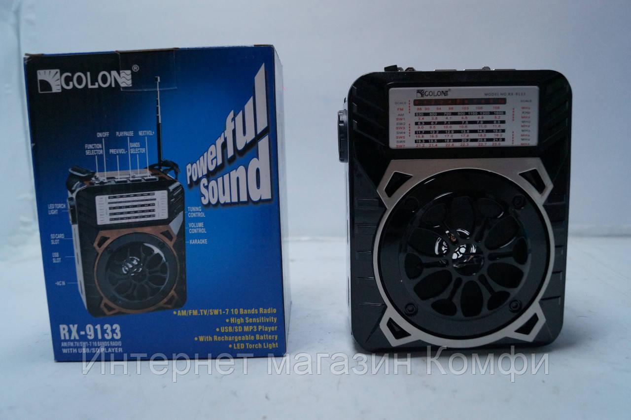 🔥✅ Радиоприемник Golon RX-9133 SD/USB