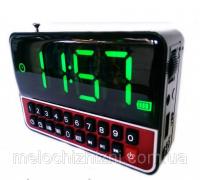 🔥✅ Радиоприемник WS-1513BT с часами и bluetooth