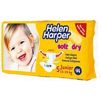 Подгузки Helen Harper Soft&Dry Да, 15-25 кг., Да, Нет, Унисекс, 5 (Junior), Одноразовые, Липучки, Да