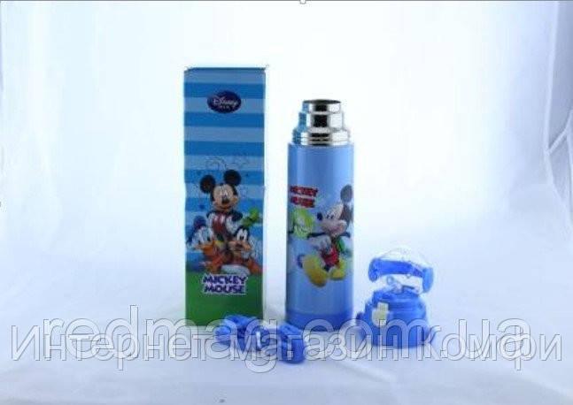 🔥✅ Термос для мальчика zk g 604 500ml. Blue