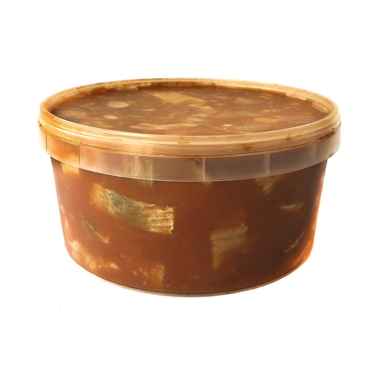 """Сельдь кусочки в томатном соусе """"САЧИКО"""". Ведро 3.3 кг"""