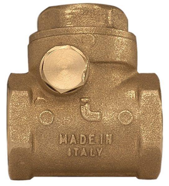 Клапан обратного хода воды ITAP ROMA 130 хлопушка 1/2'