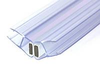 KLC-03-05-00 Душевой уплотнитель под стекло 8 мм, гол 135 градусов, длинной 2200 мм