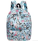 Стильный женский рюкзак Кошечки Школьный городской, фото 2