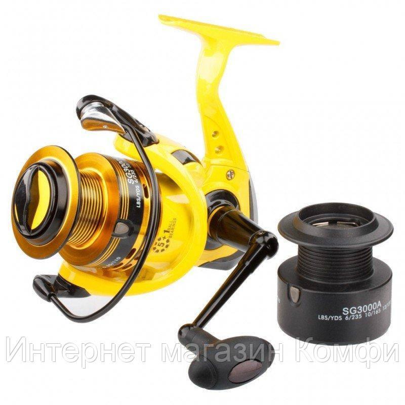 🔥✅ Катушка рыболовная Kaida SG 2000A
