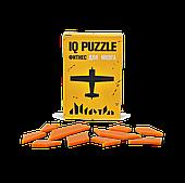 Головоломка Самолет, IQ Puzzle Фитнес для мозга, 1 шт