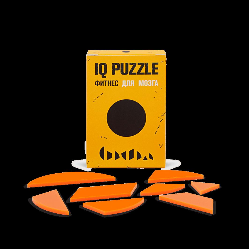 Головоломка Круг, IQ Puzzle Фитнес для мозга, 1 шт