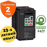 Преобразователь частоты FRECON - FR200-4T-0.7G/1.5PB (0.75/1.5 кВт) - Входное напряжение: 3-ф 380V