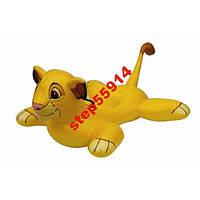 Плот Львенок из мультфильма надувной Intex