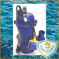 Фекальный насос WERK WQD 12. Дренажный насос. Насос для откачки. Насос для канализации.