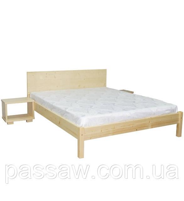 Кровать деревянная Л-243 1,2