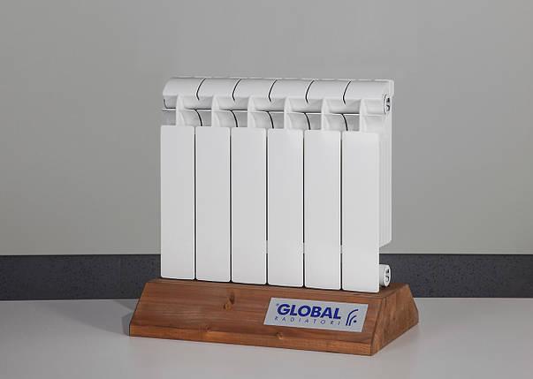 Радиатор биметаллический Global Style Plus 350/100, фото 2