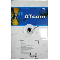 Кабель  для компьютерных  сетей AT-com UTP cat5e,алюминий-медь(за 1метр)4*2*0,5мм