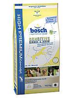 Bosch Sensitive Lamb & Rice (Бош Сенситив Ягненок и Рис) для собак, склонных к аллергии 15 кг