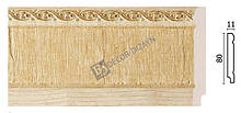 Плинтус напольный Арт-Багет  144-5,интерьерный декор