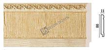 Плінтус підлоговий Арт-Багет 144-5,інтер'єрний декор