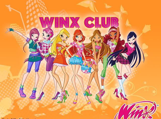"Вафельные картинки ""Winx Club 4"" А4 Галетте -01948"