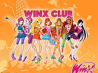 "Вафельные картинки ""Winx Club 4"" А4 (код 01948)"