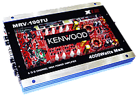 Автомобильный усилитель звука Kenwood MRV-1907U + USB - 4000Вт - 4х канальный