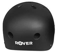 Защитный шлем Rover HJ0-04 (M) Черный матовый (361436), фото 3