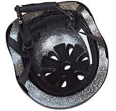 Защитный шлем Rover HJ0-04 (M) Черный матовый (361436), фото 2