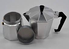Гейзерная кофеварка на 3 чашки WimpeX WX 3035, фото 3
