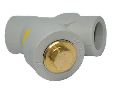 Обратный клапан ППР для полипропиленовых трубопроводов