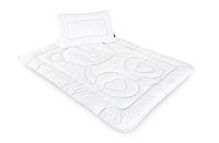Детский постельный набор в кроватку подушка и одеяло Медвежонок