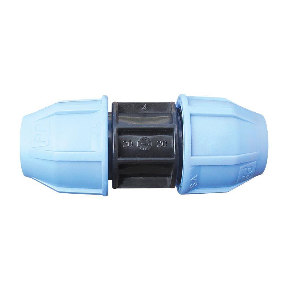 Муфта VS Plast 2001 32х32 мм для полиэтиленовых труб соединительная