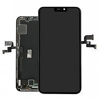 Оригинальный Дисплей (экран) Apple iPhone Xs MAX, с сенсорным стеклом, черный