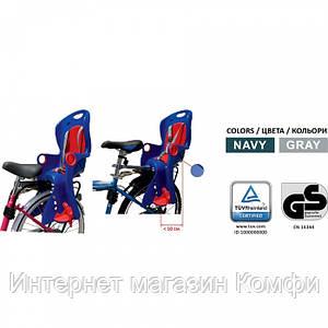 🔥✅ Детское велокресло Tilly T-831 для детей с установкой позади сиденья