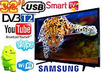 """🔥✅ LED Телевизор Samsung 32"""" SMART TV, DVB-T2 L34 Реплика (LY315D16A180731576W) Wi-Fi, USB HDMI"""