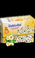 Фиточай ромашковый бебивита bebivita, 30 г (20 пак. х 1,5 г) с 1 мес.