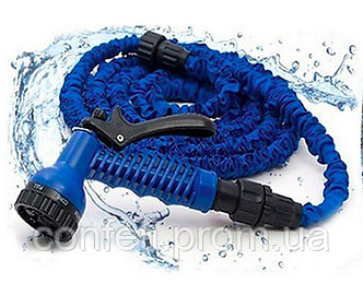 🔥✅ Садовый шланг для полива Xhose 60 Метров 200FT с распылителем X-Hose 60м