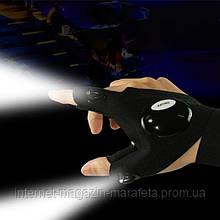 Перчатка со светодиодной подсветкой — DreamTon для рыбалки, сантехники, авто, перчатка с фонариком