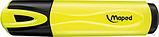 Текст-маркер FLUO PEPS Classic желтый Maped, фото 2
