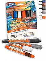 Davis Essential Colors - цветные мелки для шерсти (основные цвета)