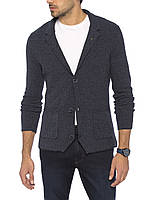 Мужской пиджак LC Waikiki / ЛС Вайкики синий c 2-мя накладными карманами, на пуговицах XL