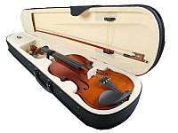 Новая классная скрипка Jago 4/4, три цвета + кейс!
