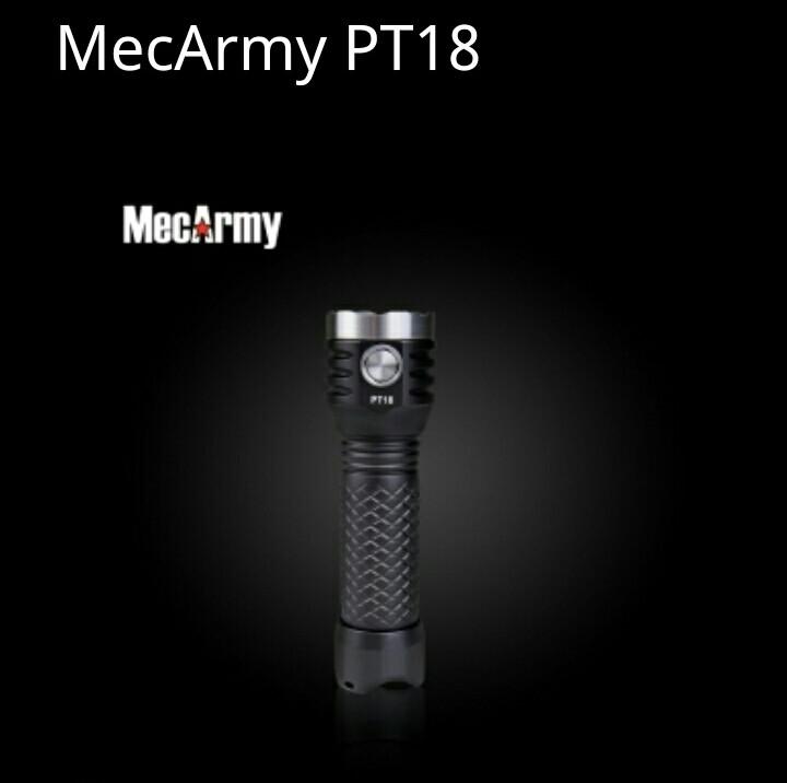 Фонарик MecArmy PT18