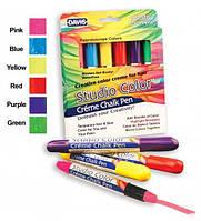 Davis Essential Colors Kaleidoscope Colors - цветные мелки для шерсти (яркие цвета), фото 1